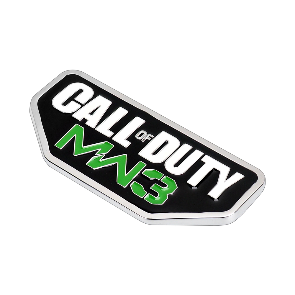 3d call of duty mw3 car sticker for jeep wrangler logo emblem badge auto waterproof decal in car stickers from automobiles motorcycles on aliexpress com