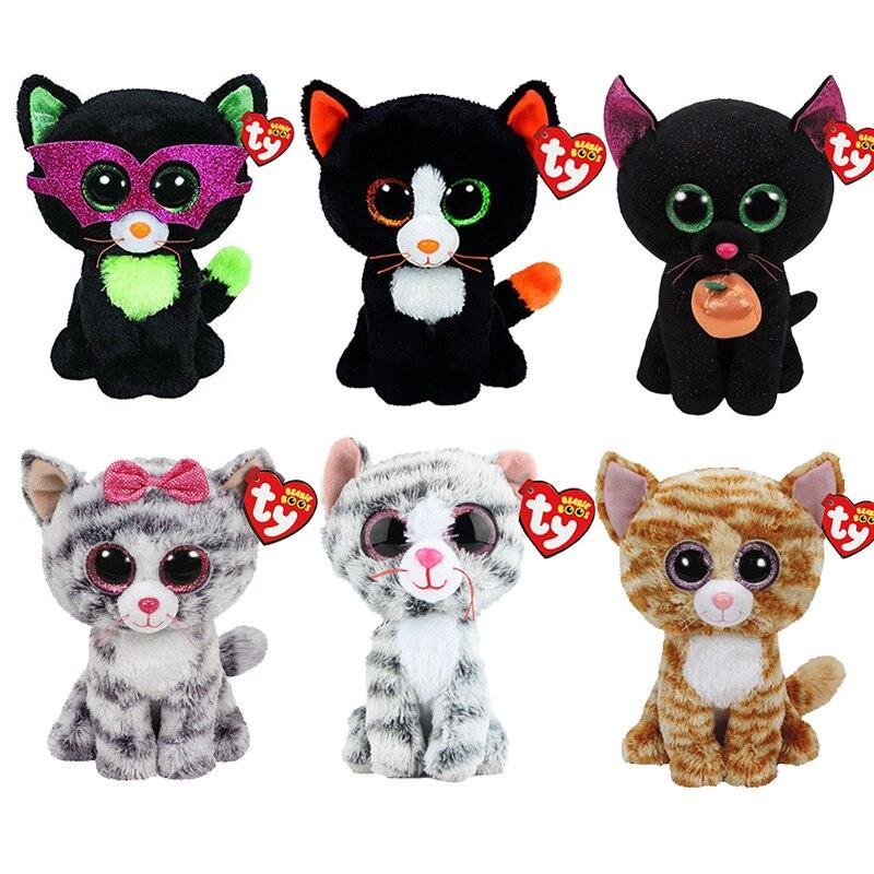 Discount Ty Beanie Boos Cat Plush Toy Doll Stuffed Animal With Tag 6 ... 6b2b428affa