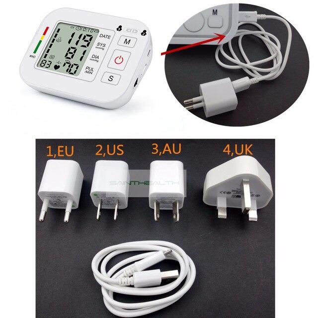 Medical Equipment Tonometer Digital Upper Arm Tensioner Blood Pressure Monitor Measurement Meter Device BP Meter For Measuring 1