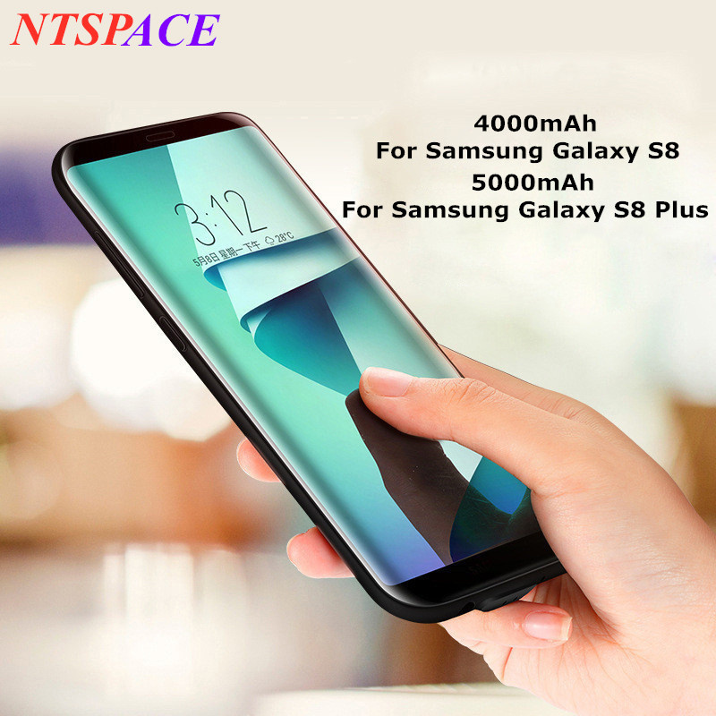 Extended Phone Battery Power Case For Samsung Galaxy S8 Portable Battery Charging Case For Galaxy S8 Plus Backup Battery Cover