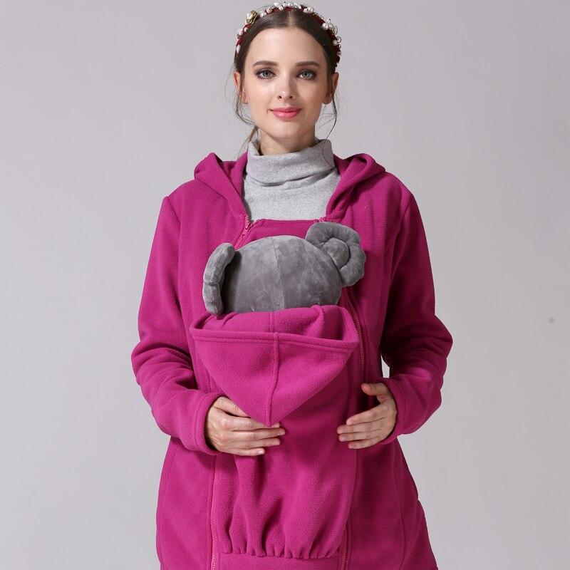 función canguro chaqueta maternidad abrigo embarazada lactancia Moms invierno Multi Emotion tops 08wPkZnOXN