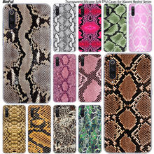 Luipaard print Snake skin Siliconen Case Voor Xiaomi Pocophone F1 9 T 9 9SE 8 A2 Lite A1 A2 Mix3 redmi K20 7A Note 4 4X5 6 7 Pro S2(China)