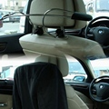 Auto Assento Encosto de Cabeça Do Carro de Aço inoxidável Cabide Conveniente Assento Encosto de Cabeça Do Carro Auto Peças de Roupas Casaco Terno Cabide Cabide de Carro Carro Styling