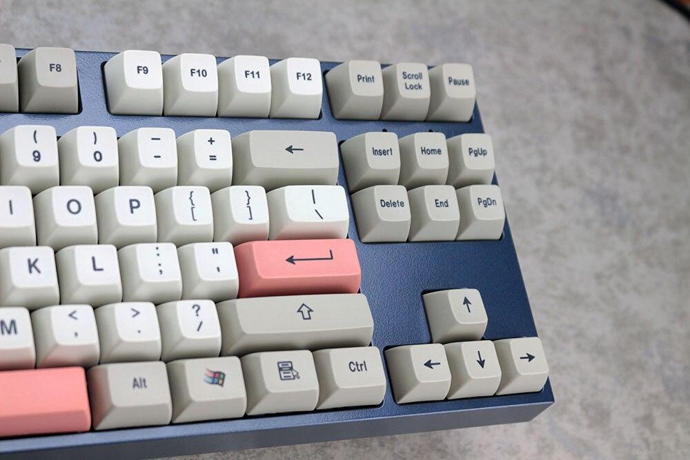 pbt dye-subtion keycaps sa perfil para teclado de jogos mecânicos