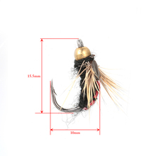 40PCS Fly Fishing Lure Dry Flies Hooks Feather Wing Artificial Pesca Bait Lure for Carp Trout Winter Pesca Tackle/Box