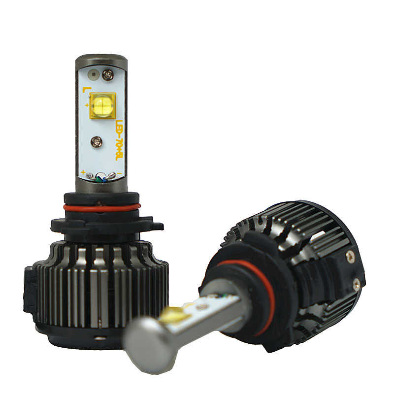 JGAUT XHP50 H4 LED Headlight H1 H3 H7 H11 880 H13 9005 9006 9004 9012 Hi/Lo 80W 9000LM TURBO 6000K Fog Light Kit Auto