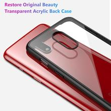 New Arrival Ultra Slim Clear Soft TPU Phone Back Protective Case Cover for OnePlus 7 Pro