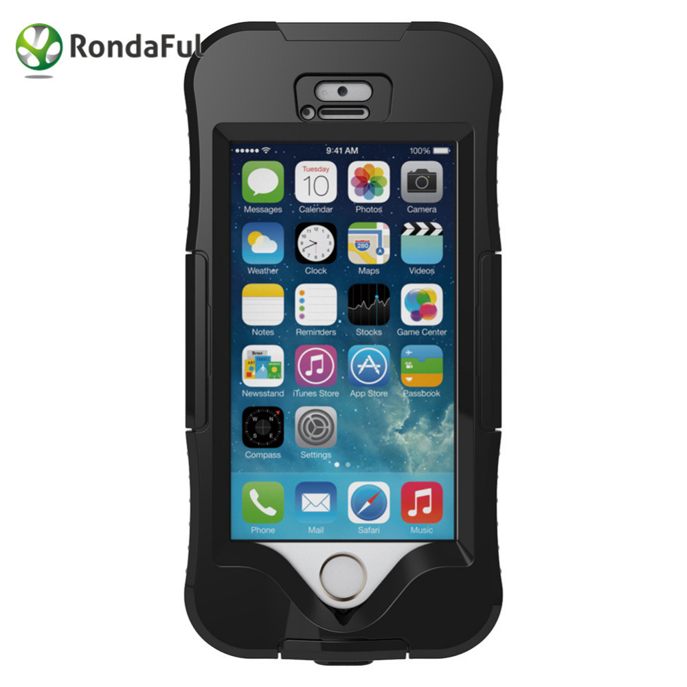 Rondaful For iPhone 5 5s Waterproof Mobile Phone Case IP68 Heavy Duty Underwater Diving Swimming Photo