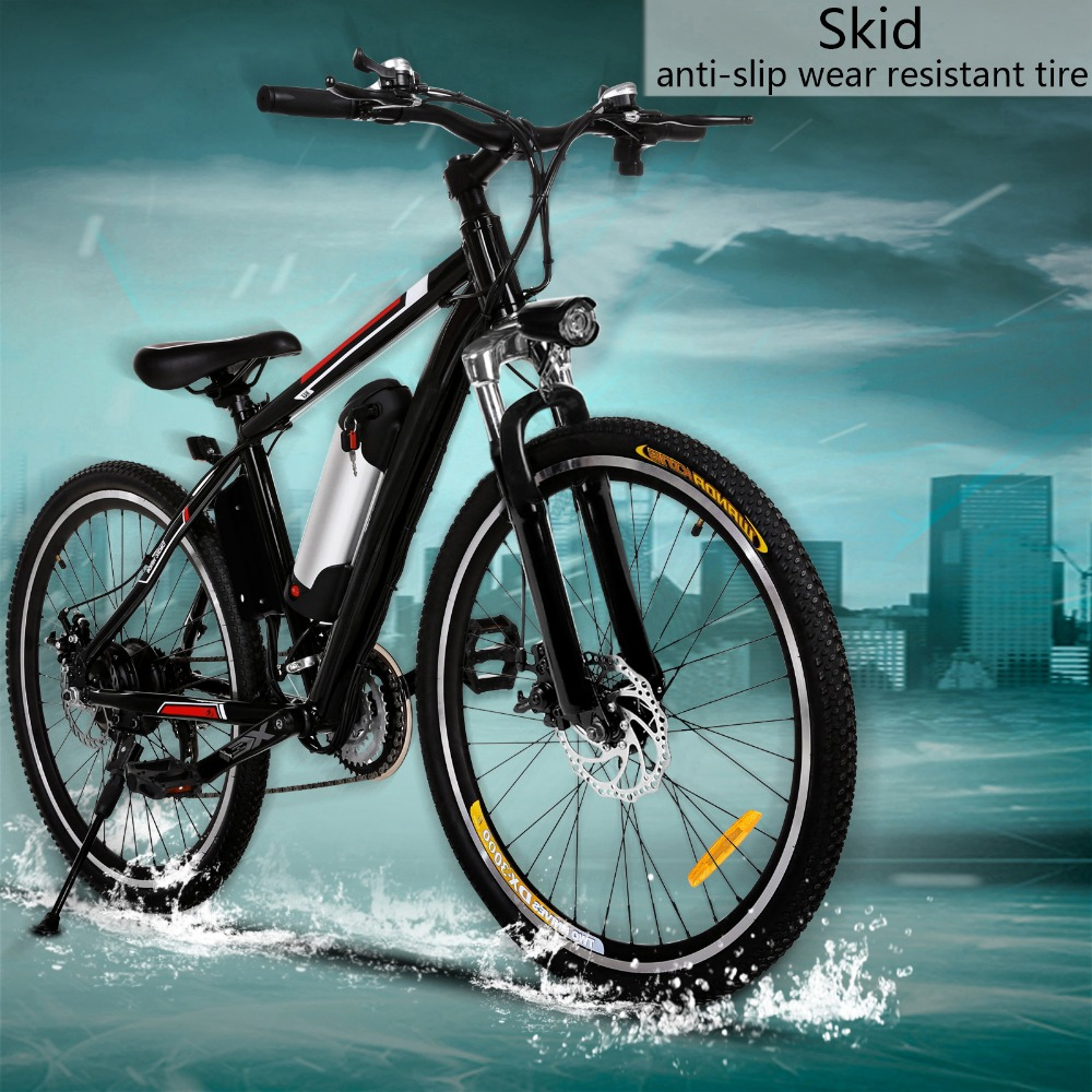 Folding Electric Mountain Bike with Lithium Ion Battery 25 inch ...