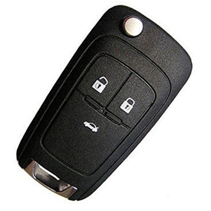 Prix pour Nouveau Uncut Lame Principale À Distance Fob 3BTN 433 Mhz ID46 Puce pour Opel Vauxhall Astra J/Insignia 2009-2014 Zafira C/Mokka 2012-2014