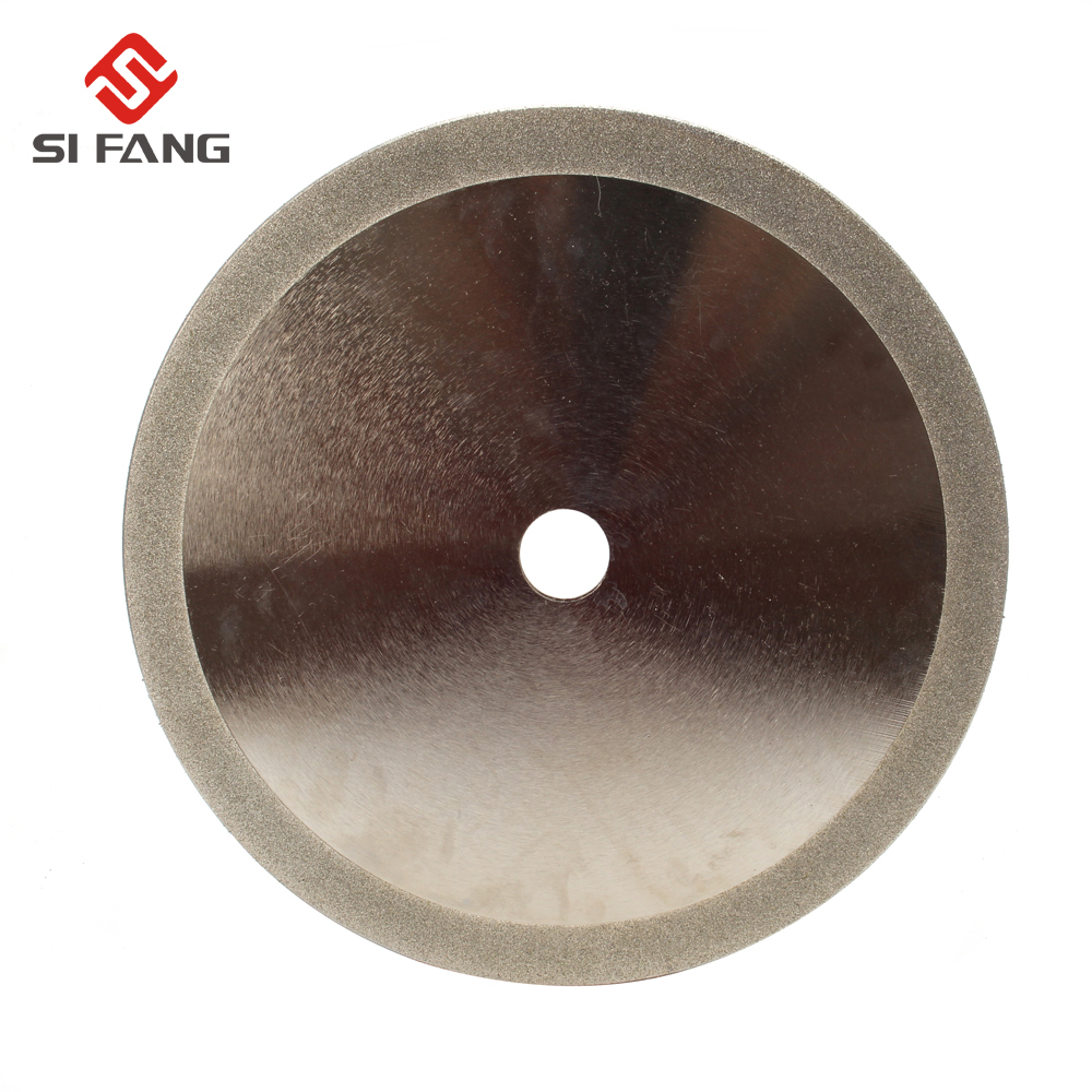 200mm*25mm 8'' Diamond Circular Saw Blade Electroplated Cutting Disc Grinding Wheel For Jade Jewlery Glass PVC Pipe