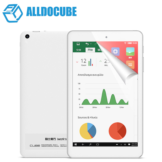 Original Cube Iwork8 Air Pro Windows+Android 5.1 Dual OS Tablet PC 8'' IPS 1920x1200 Intel Atom x5-Z8350 Bluetooth Dual Camera