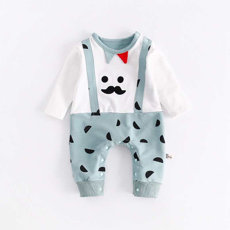 Newborn Rompers Baby Boy Girl Clothes Cute Cartoon Long Sleeve Baby Costumes For Babies Jumpsuit Bebes Infantil Autumn Clothing