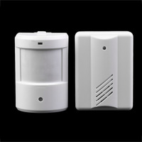 New Driveway Patrol Garage Infrared Wireless Doorbell Alarm System Motion Sensor Home Security Alarm Motion Sensor