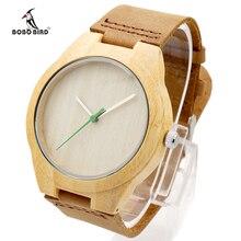 Fashion BOBO BIRD Brand Men Watches Bamboo Wood Wristwatch Luxury Mens Watch Relogio Masculino as