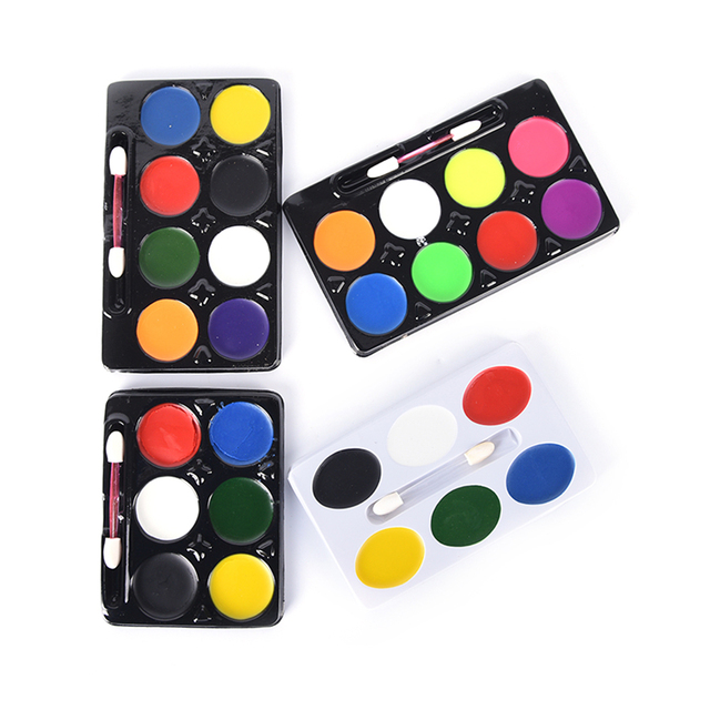 makeup body non toxic water paint oil body face painting kit with