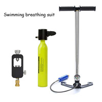 Mini Diving Scuba Cylinder Air Tank Valve Respirator Box Diving Equipment Snorkeling Underwater Breathing Accessory