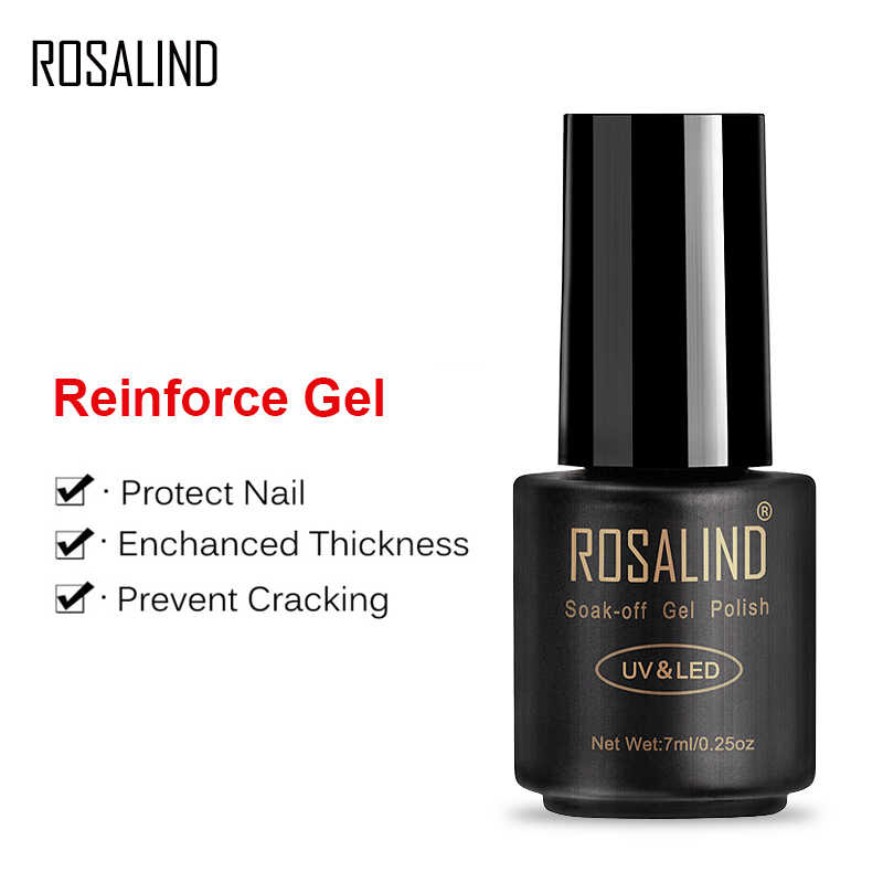 ROSALIND 7 ml Versterken Gel Polish UV Soak off Gel Lak Nail Versterkte Semi Vernis Permanente Nagellak