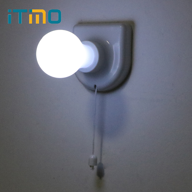 ITimo Bedside Bulb Wired Wall Lamp Handy Convenient Corridor Closet ...