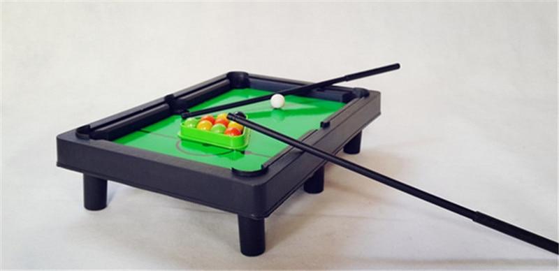 Mini Desktop Pool Table Kids Educational Toys Childrenu0027s Billiard Table  Supplies 43.5cm X31.5cm X 5cm In Snooker U0026 Billiard Tables From Sports ...