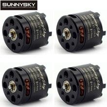 4 pièces Sunnysky X2212 980KV 1250KV 1400KV Outrunner 2212 pour RC Quadrirotor Multicopter