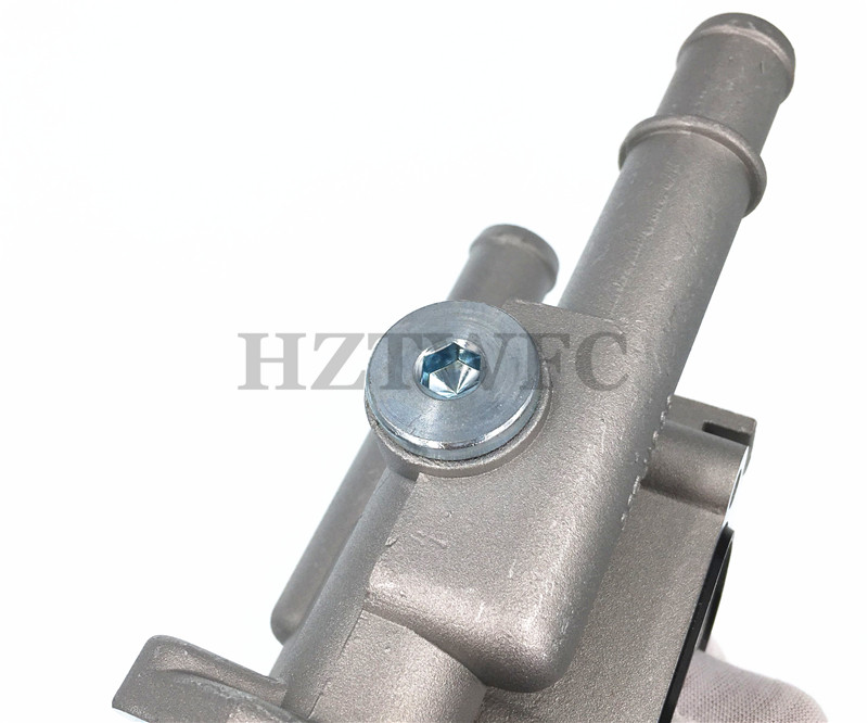 Astra Zafira Signum Vectra HZTWFC Aluminum Thermostat Cover Housing Metal Case 96984103 96817255 Compatible for Chevrolet Cruze Epica Hideo