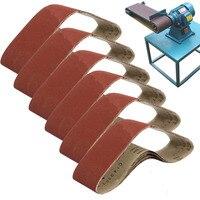 6pcs Set New Abrasive Sanding Belt 400 Grit Sanding Belts 100x915mm For Metal Working Sander Tools