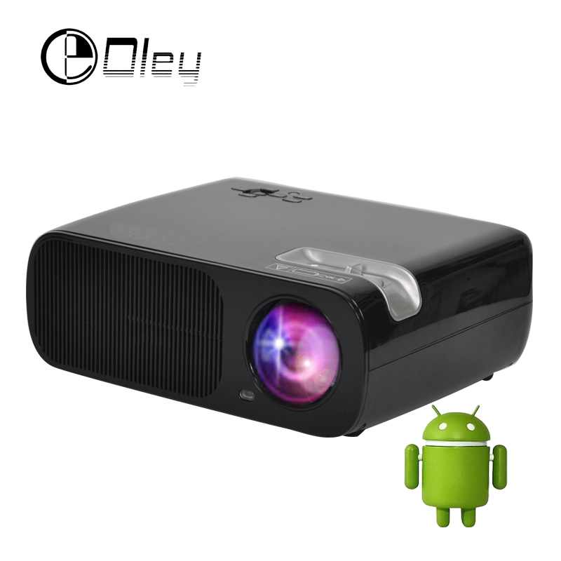 OLEY BL 20 Android 4.4 Video LCD LED TV Projector Home Theater HDMI Projetor Beamer 1080p 3000 Lumen Proyector With USB/HDMI