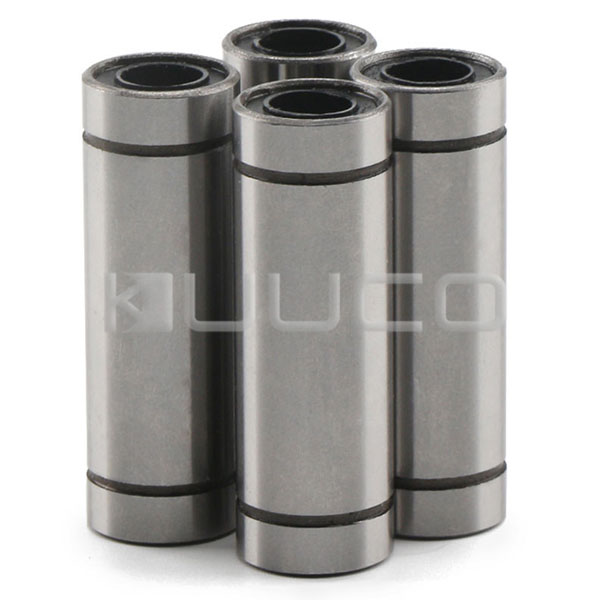 4 PCS High Hardness Steel Ball Bearings LM10LUU 10mm Linear Bearing 10mm x 19mm x 55mm Linear Shaft Bearing for CNC/3D Printer lm6luu 6 x 12 x 35mm carbon steel linear motion ball bearings