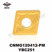 Токарные Вставки для стали zccct cnmg 120412 полуотделочные