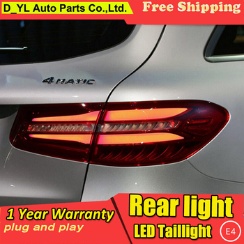 DY_L Car Styling for Mercedes-Benz W253 GLC200 GLC260 GLC300 LED Taillight Rear Lamp Parking Brake Turn Signal Lights