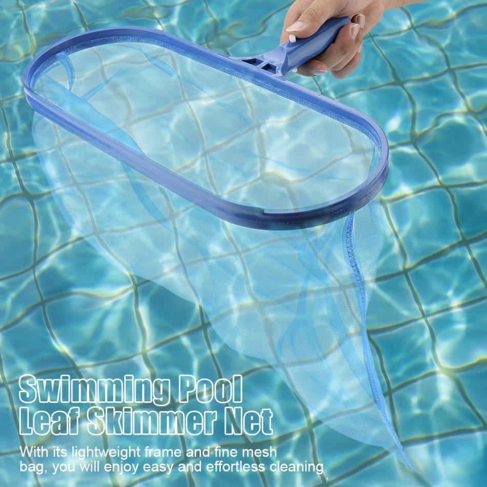 Plastic Leaf Mesh Skimmer Fine Mesh Net Pool Cleaner Pond Bath Cleaning Mesh