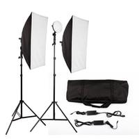 LED Photography Photo Studio Lighting Kit Photo Video Equipment Softbox Light Tent Set with carrying bag