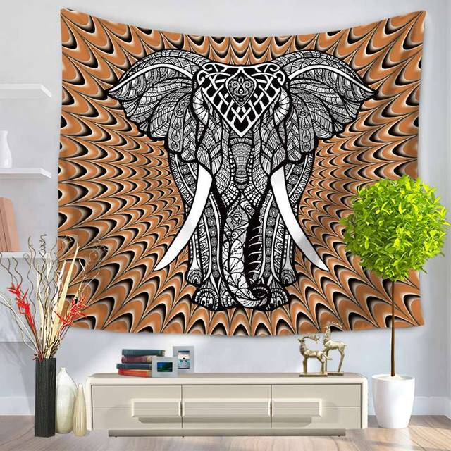 Indian Mandala Tapestry Hippie Wall Hanging Tapestries Boho Bedspread Beach Towel Yoga Mat Blanket Tapiz Pared Mandala Tapestry