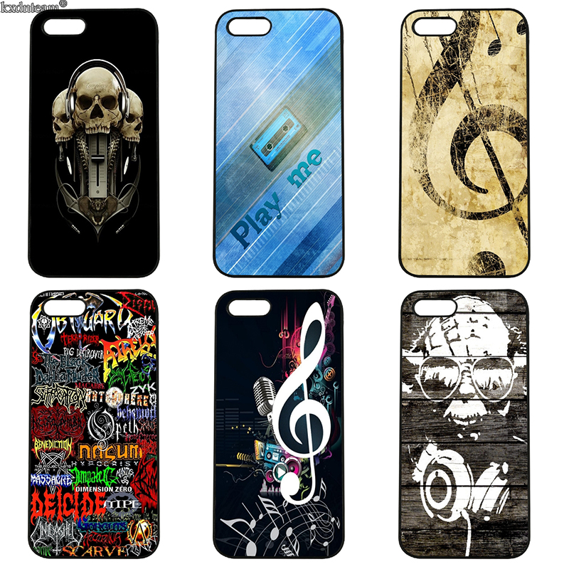 Love Play Old Musical Mobile Phone Cases Hard PC Cover Fitted for iphone 8 7 6 6S Plus X 5S 5C 5 SE 4 4S iPod Touch 4 5 6 Shell