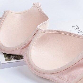 Seemless Full-Coverage Balconette Big Size T-Shirt Bra Blue Blown Pink 34-44 B C D DD E 4