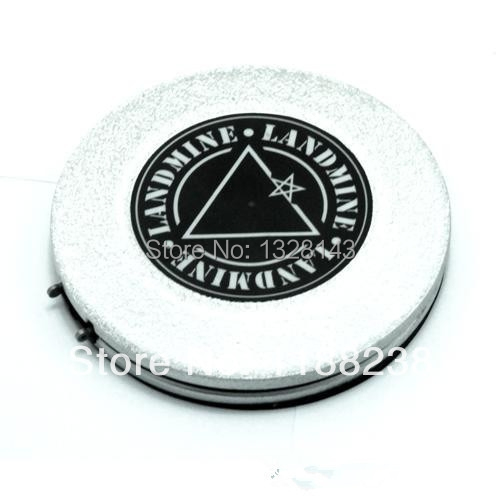 Recommended New Silver Gray Plastic Landmine Foot Switch Tattoo Foot Pedals Wireless for tattoo machine tattoo supply