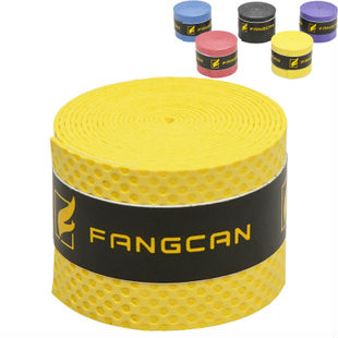 60pcs FANGCAN badminton stiletto grip, tennis racket overgrips, sweat absorption PU, multi colors, 0.8mm thickness