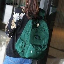 Мода нейлон женщины рюкзак колледж средней школы сумки для девочек-подростков верхняя одежда Книга сумка Mochila мягкие ежедневно Bagpack