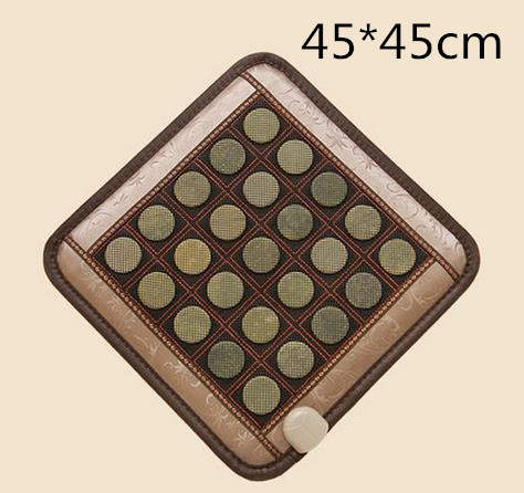 Jade net surface mat the body massage, the electric heating pad germanium stone cushion, ms tomalin buffer ochre office holiday 2016 heat electric heating jade stone massage pad cushion cover wholesale china supplier 3 size for you choice