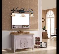 Лампа переднего зеркала Ванная комната Кабинета свет Ретро Спальня зеркало спереди лампа Континентальный простой пастырской mirroramerican LED