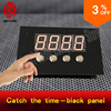 Takagism Game Room Escape Prop Jxkj1987 Catch The Time Black Panel Catch The Password To Open