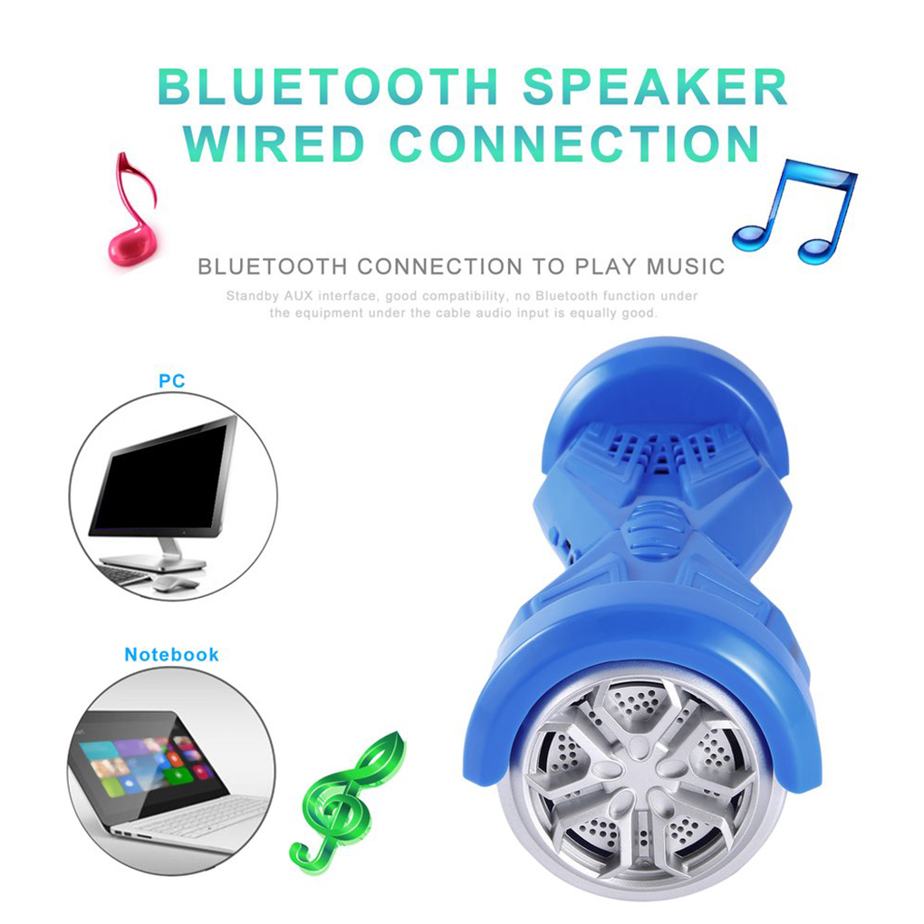 Wired Connection H10 Twist Car Shaped Wireless Bluetooth Speakers ...