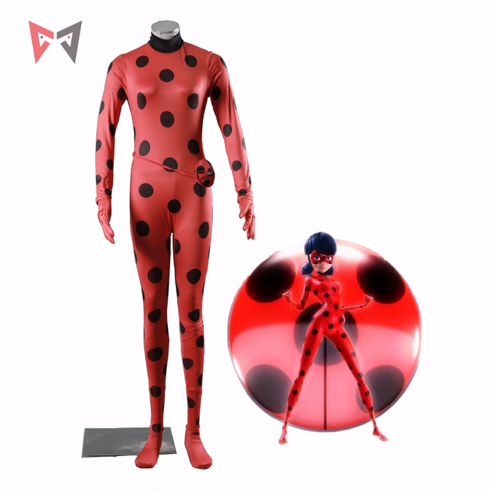 Athemis Miraculous Ladybug cosplay costume Jumpsuits in stock