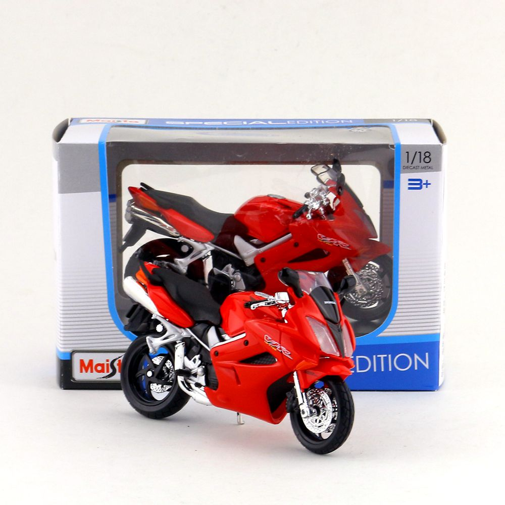 Toys & Hobbies Maisto/1:18 Scale/diecast Model Motorcycle Toy/honda Vfr Supercross Model/delicate Gift Or Toy/colllection/for Children