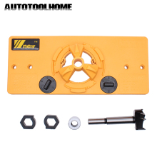 Hole Opener Hinge Drilling-Guide Locator Diy-Tool Jig Forstner Woodworking 35mm Door-Cabinets