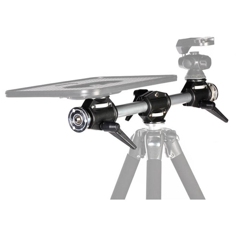 Free Shipping Tripod cross arm mount bracket camera computer