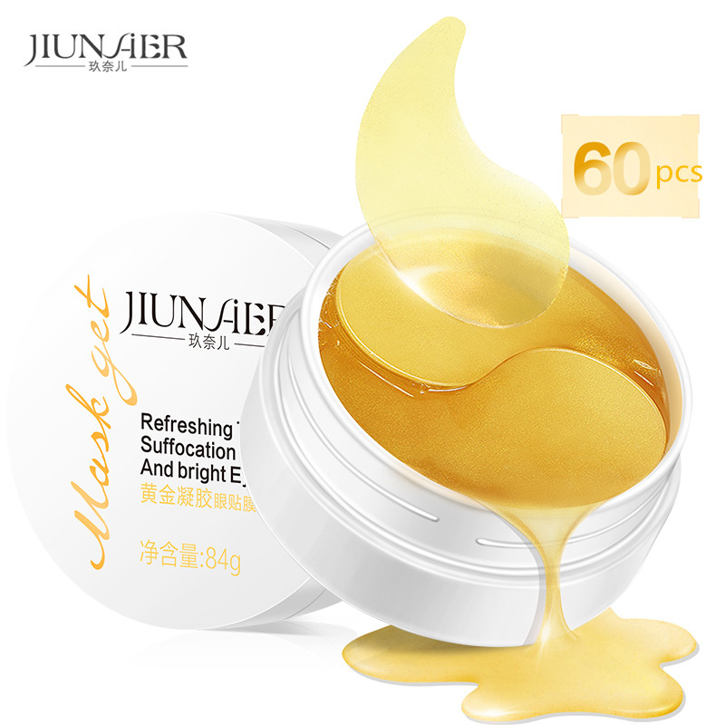 Zonale Gold Aquagel Collagen Eye Mask Ageless Sleep Mask Eye Patches Dark Circles Face Care Mask To Face Skin Care Whitening matis face care mask delicate