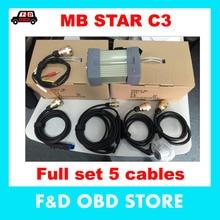 Новинка, OEM mb star c3, высокое качество, MB Диагностический мультиплексор, тестер MB Star C3 без программного обеспечения для диагностического инструмента Mercede