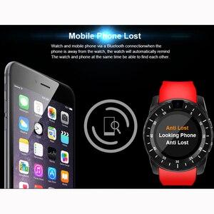 Image 4 - Inteligentny zegarek V8s mężczyźni Bluetooth Sport zegarki damskie panie Rel gio smartwatch z kamerą gniazdo karty sim telefon z systemem android PK DZ09 A1